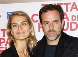 Fausto Brizzi e Claudia Zanella