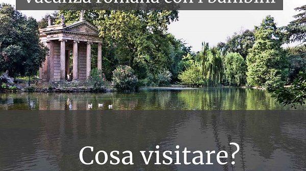 Roma con i bambini - Villa Borghese